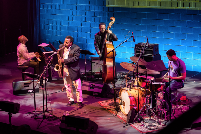 BRIC JazzFestg, David Murray and the Infinity Quartet