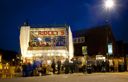 1.Ridley's at night