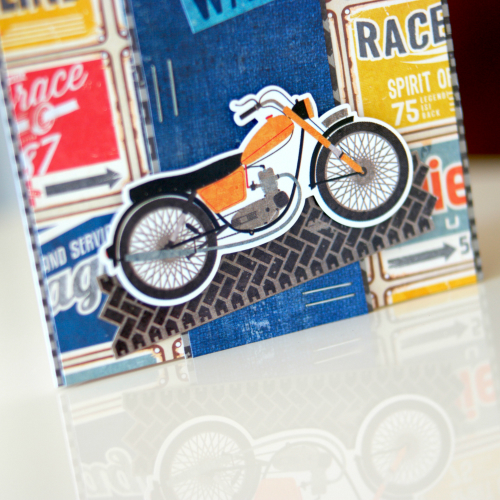 """""""Off Road"""" Collection Cards by designer Courtney Lee for #EchoParkPaper"""