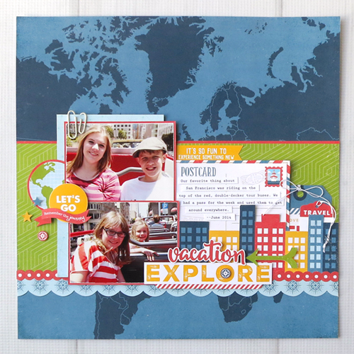 """Go, See, Explore"" project for CHA by Jana Eubank for #EchoParkPaper"