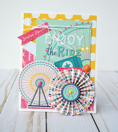 Summer Dreams card by @WendySue for #EchoParkPaper