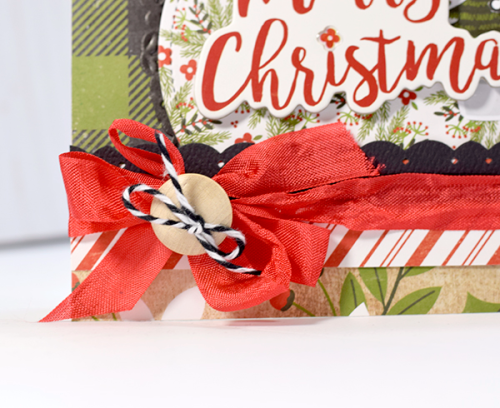 """Merry Christmas card by Tya Smith with the """"A Perfect Christmas"""" collection by #EchoParkPaper"""