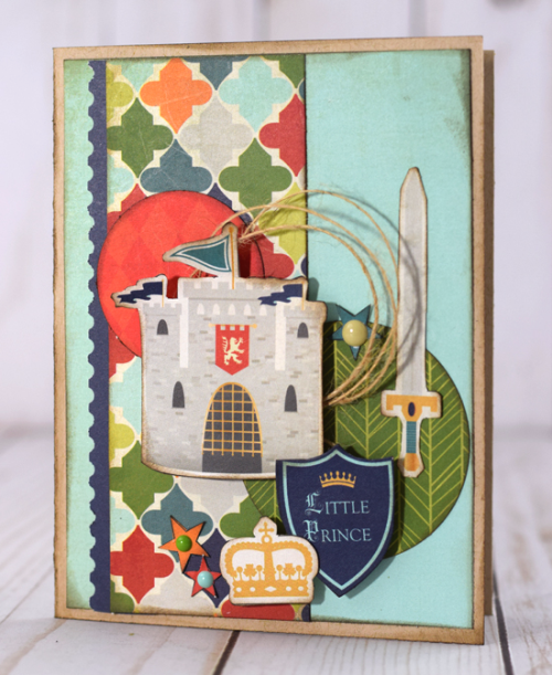 "Cards by Tya Smith featuring the ""Once Upon a Time - Prince"" Collection by #EchoParkPaper"