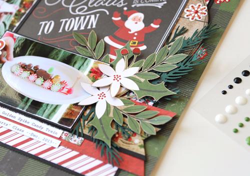 Echo Park Paper Company Perfect Christmas Rub Ons