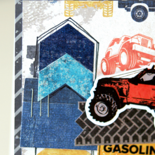 """Off Road"" Collection Cards by designer Courtney Lee for #EchoParkPaper"