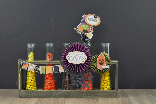 Halloween Candy Beakers  by Jen Gallacher for #EchoParkPaper