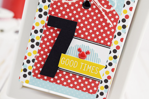 "Disney Countdown Calendar by Becki Adams with the ""Magic and Wonder"" collection by #EchoParkPaper"