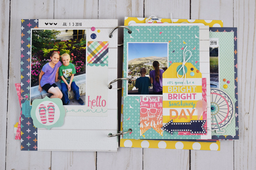 "Fun In the Sun Mini Album by Becki Adams with the ""Summer Fun"" collection by #EchoParkPaper"