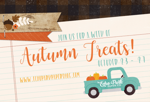 A Week of Autumn Treats #EchoParkPaper #CartaBellaPaper