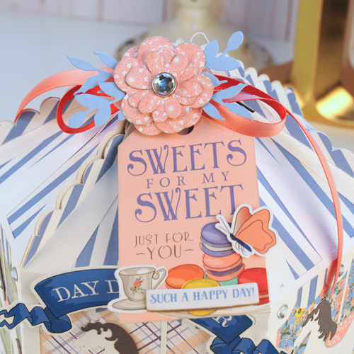 """Carousel Gift Box by Jana Eubank featuring the """"Practically Perfect"""" collection by #CartaBellaPaper"""