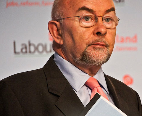 Irish Minister For Education Ruairi Quinn