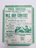 Poster: M.C. Rap Contest
