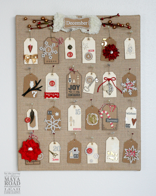 Leah farquharson maya road advent calendar