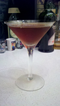"""The Billy Idol song """"Hot in the City"""" goes well with this cocktail"""