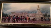 A great depiction of the Changing of the Guard at Buckingham Palace, London.