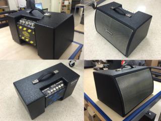 Block compatible guitar speaker cabinets