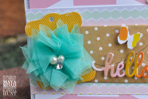 Close Up Hello Card from Design Team Member Katrina Hunt