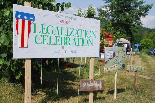 Legalization celebration
