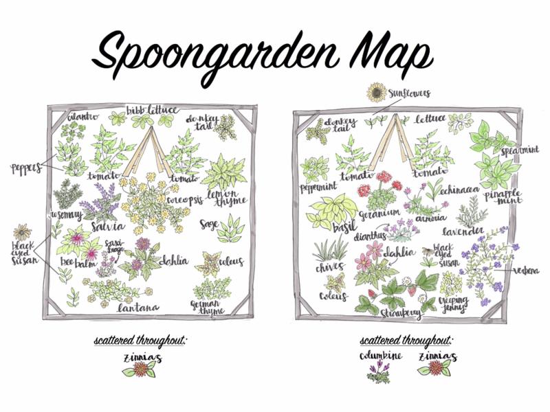Spoongarden Map