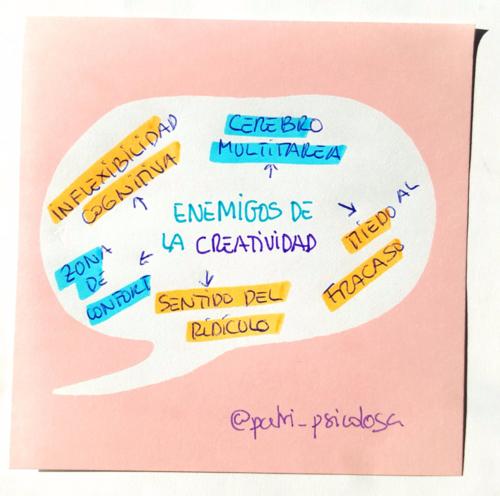 Enemigos de la creatividad