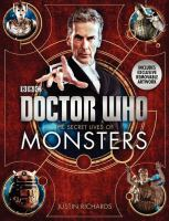 Doctor Who the secret lives of monsters