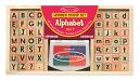 : Wooden Alphabet Stamp Set