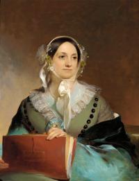 Eliza Leslie  1844  by Thomas Sully