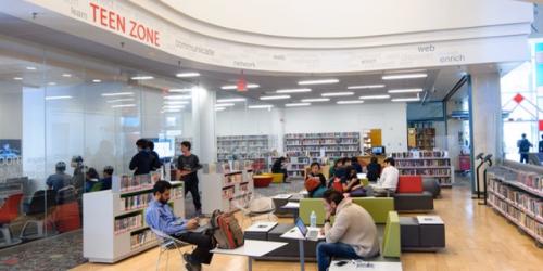 Teen Zone Toronto Public Library