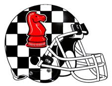 Dark-horse-red-knight-chess-piece-football-logo