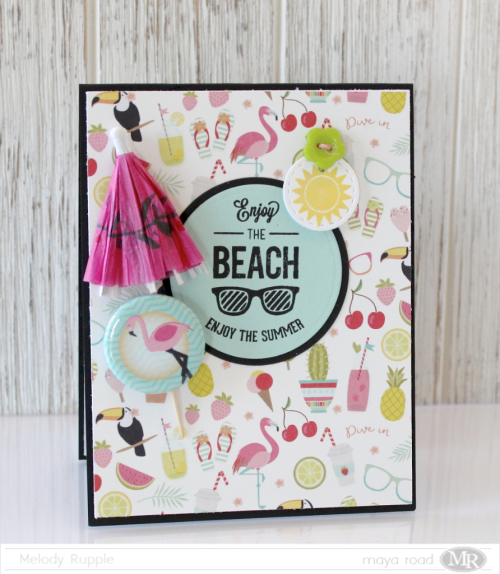 July Card Kit Enjoy the Beach