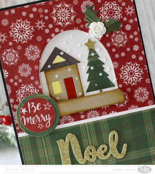 Noel Card Close Up
