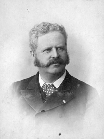 William Holmes Howland, mayor of Toronto from 1886-1887